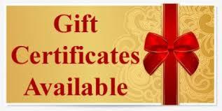 eGift Certificate in Bradenton, FL
